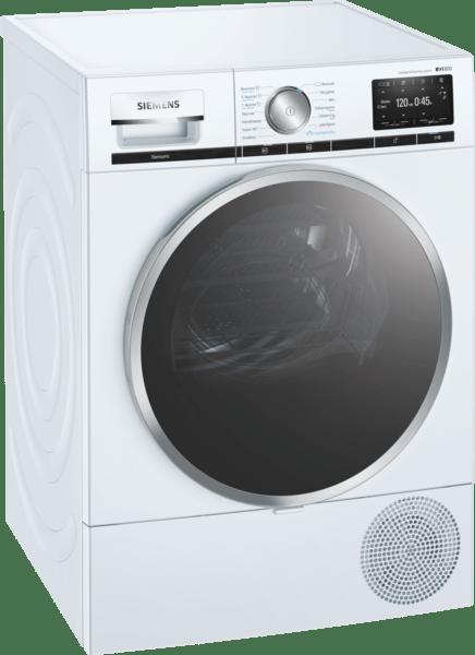 Siemens Wt4hxel9dn Iq800 Kondenstumlare - Vit