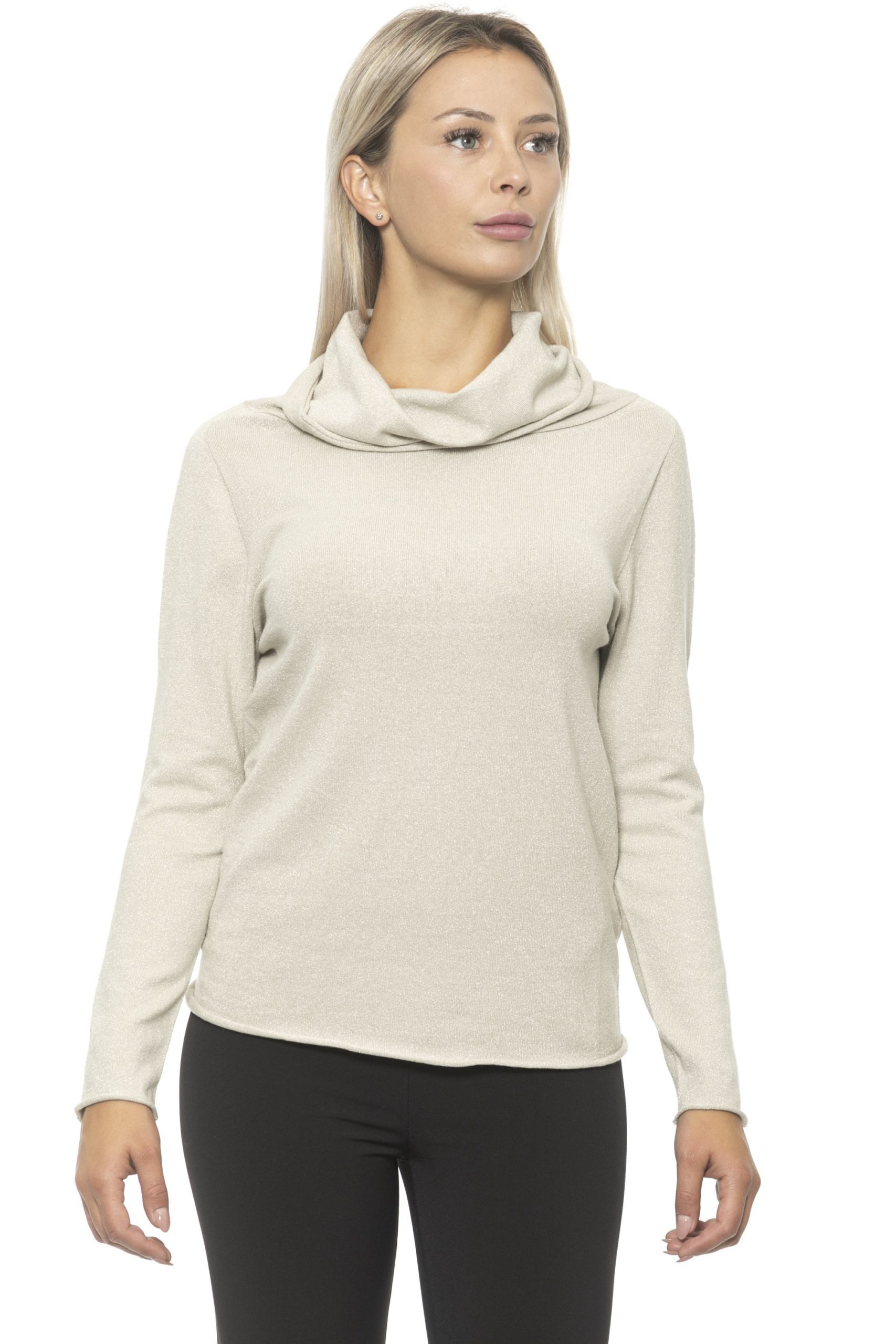 Alpha Studio Women's Sweater Beige AL1314705 - IT40 | XS