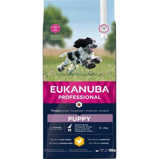 Eukanuba Puppy Medium Breed (18 kg)