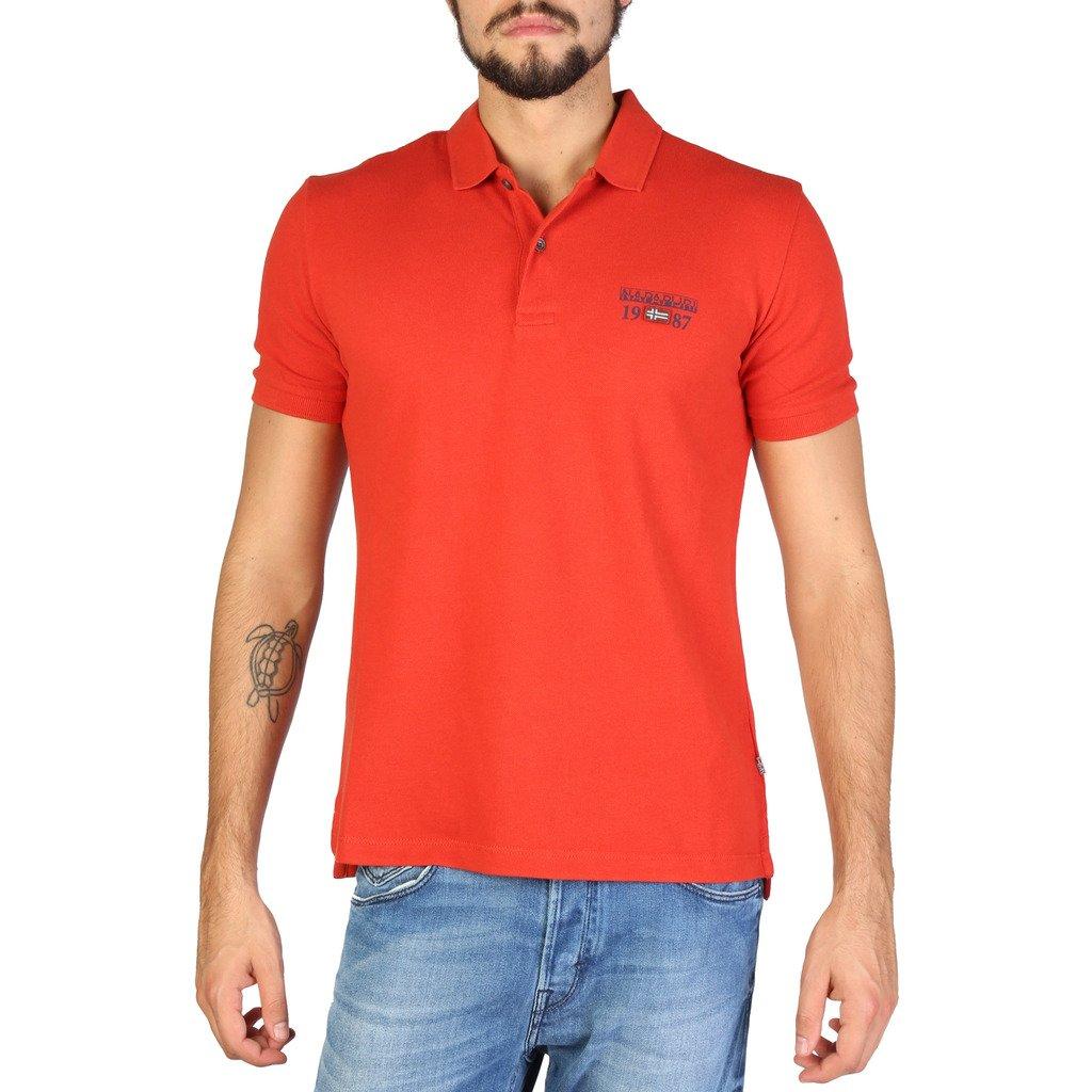 Napapijri Men's Polo Shirt Various Colours N0YILY - orange S