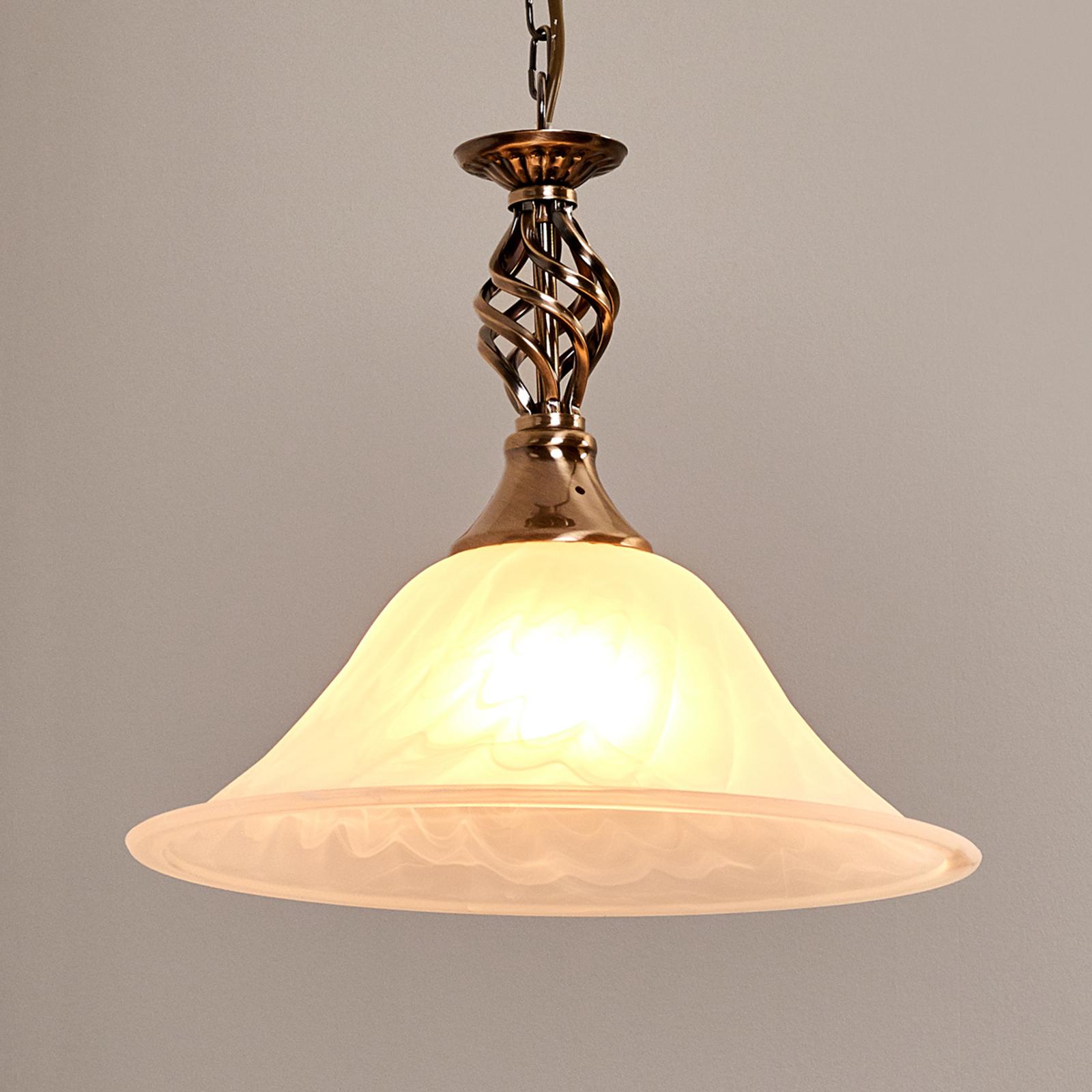 1-lamp. vanhamessinkinen CAMEROON-riippuvalaisin