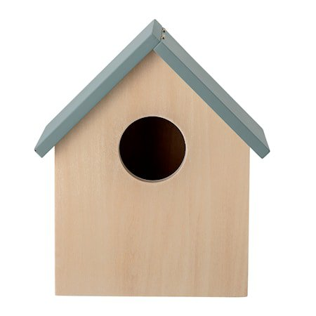Fuglehus oppbevaringseske Grå