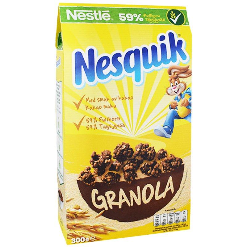 Aamiaishiutaleet Granola & Suklaa 300g - 50% alennus