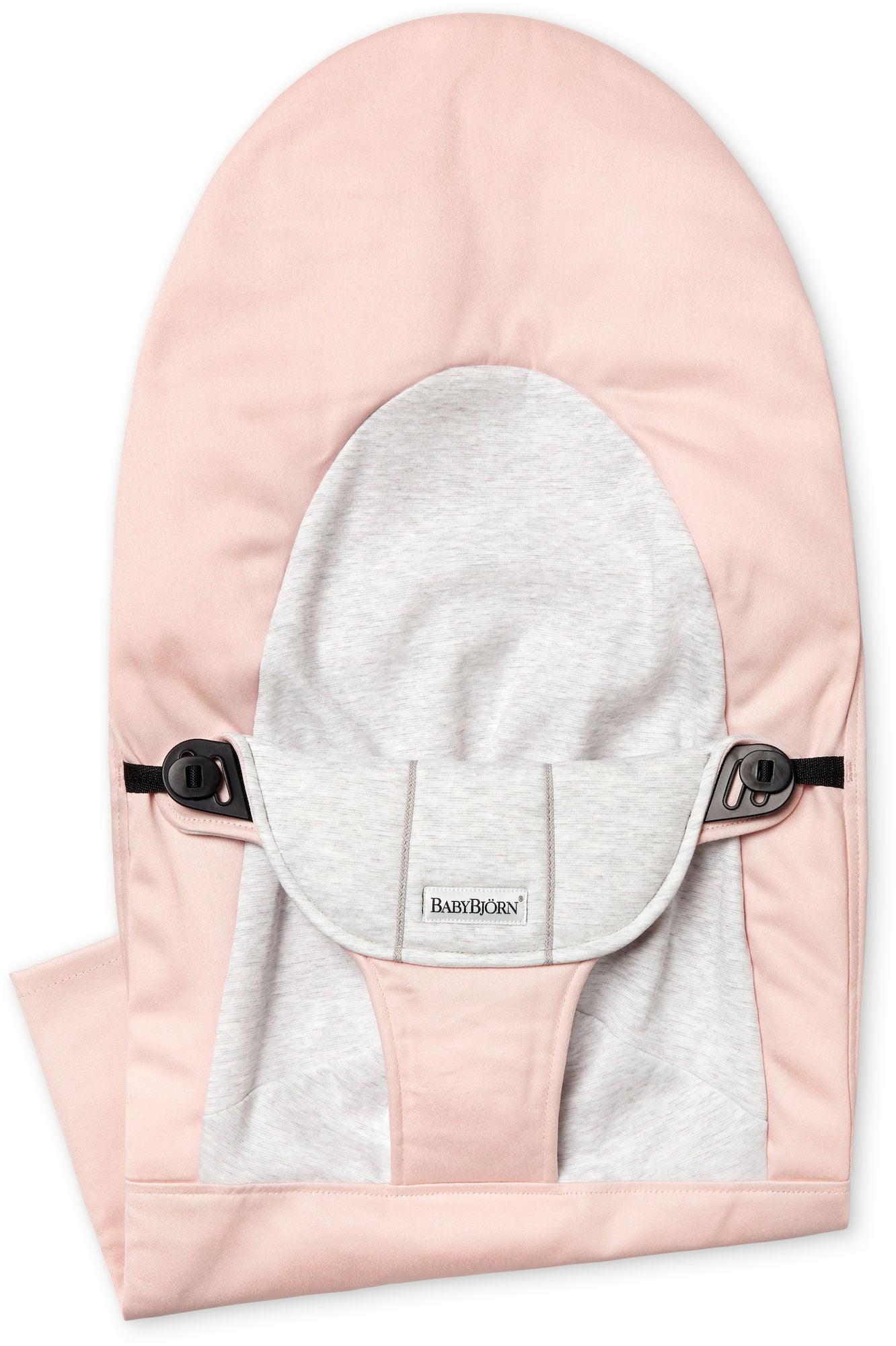BabyBjörn Balance Soft Tygsits, Rosa/Grå