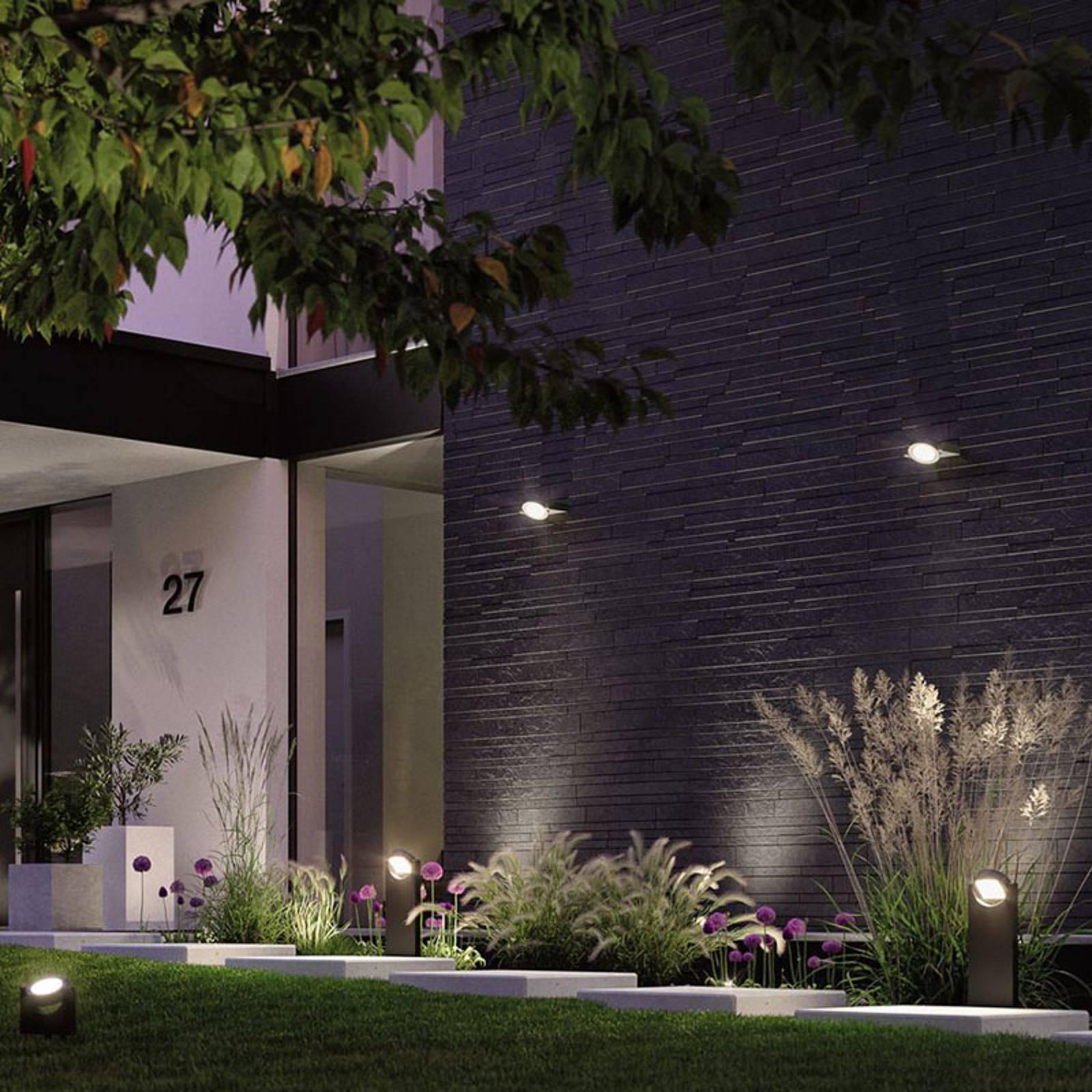 Paulmann Swivea -LED-ulkoseinälamppu, nivelletty