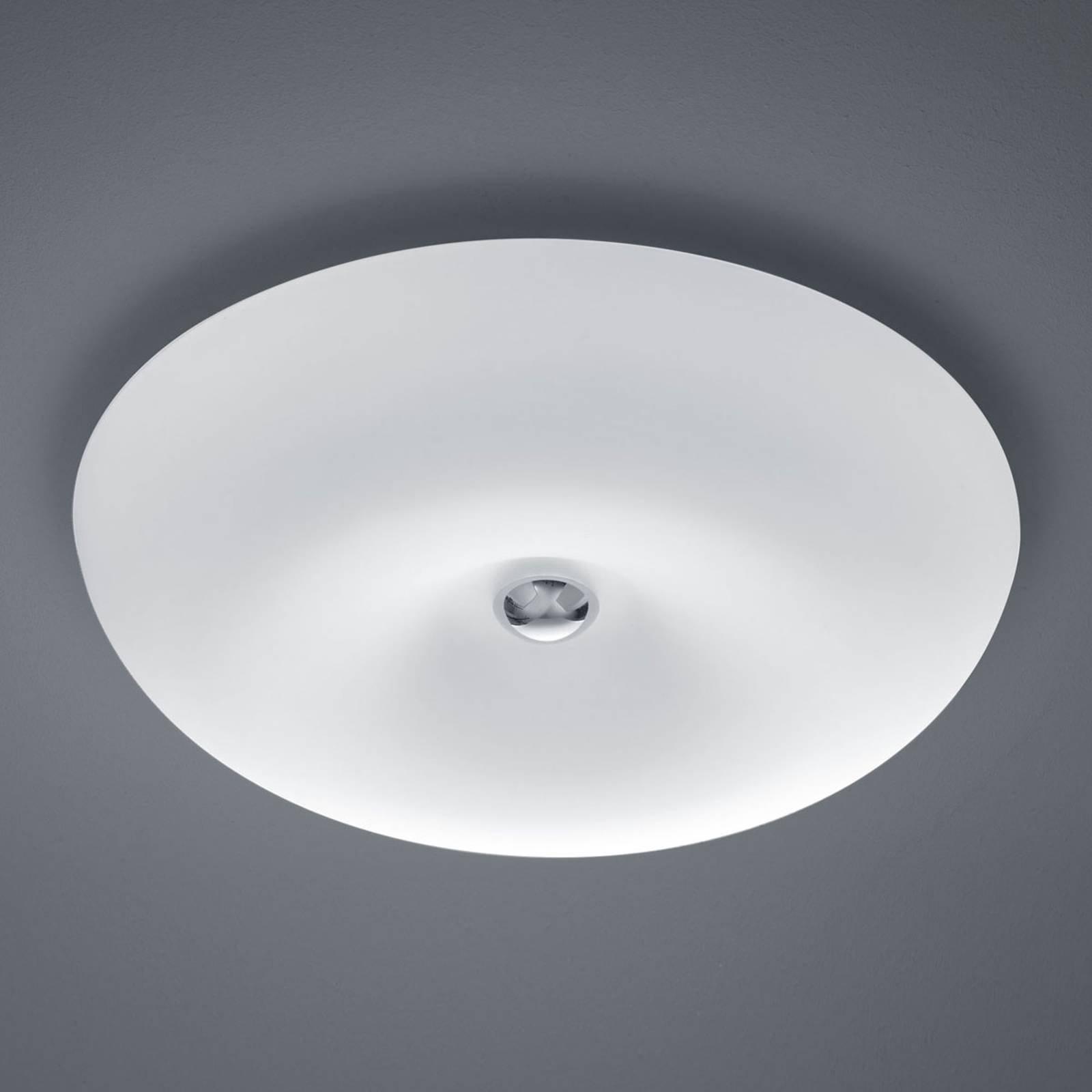 BANKAMP Vanity glass-taklampe LED, nikkel