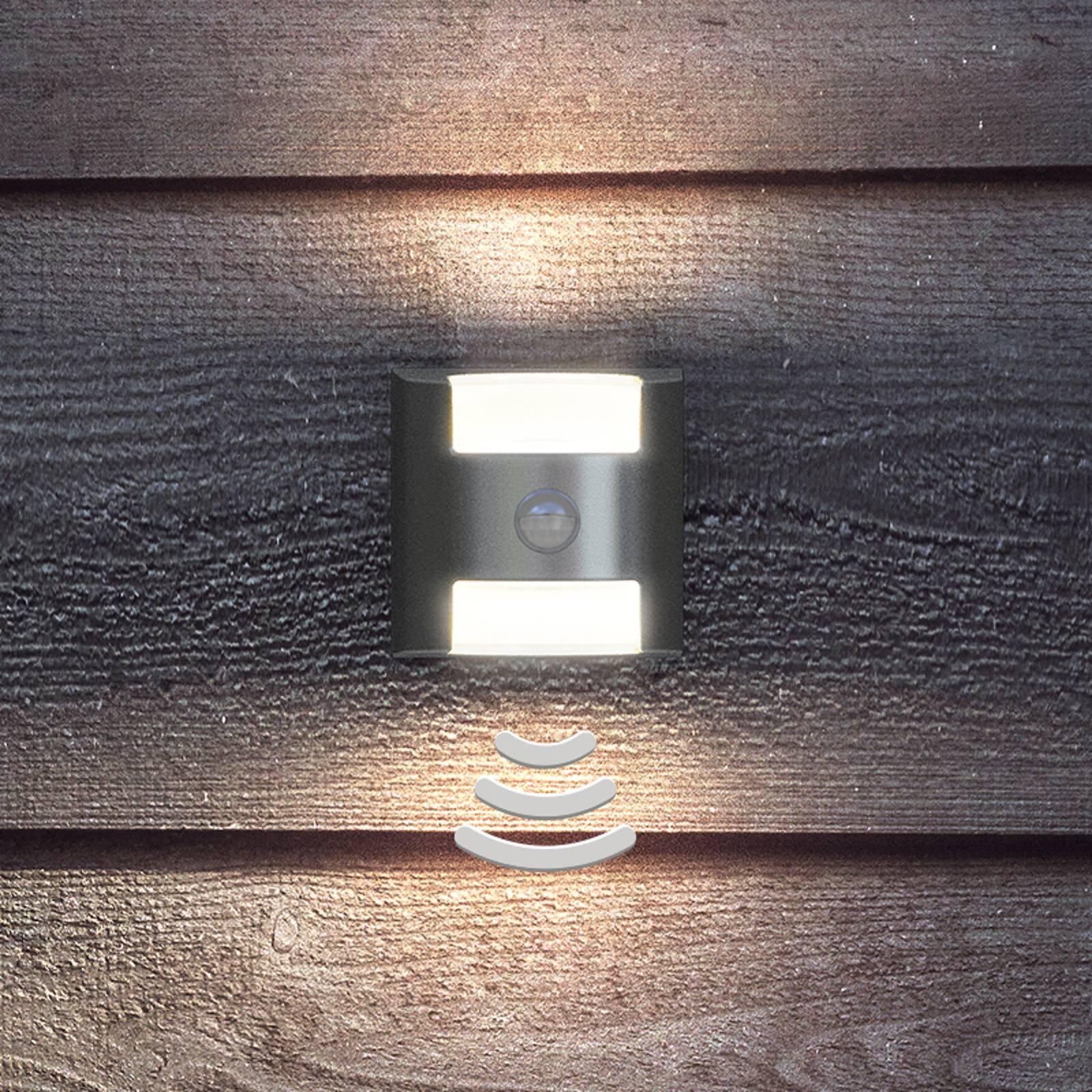 Funksjonelt LED-utevegglys Grass