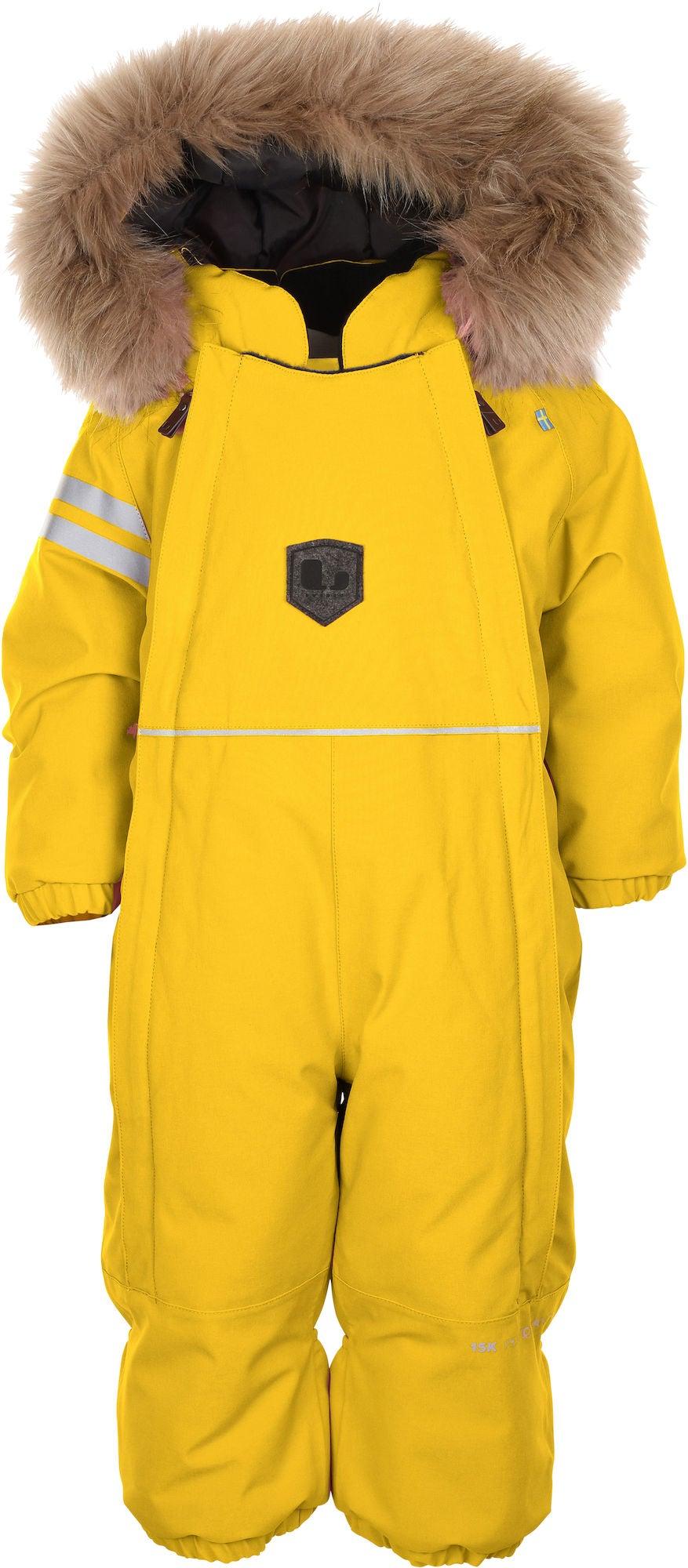 Lindberg Colden Babyoverall, Yellow 62