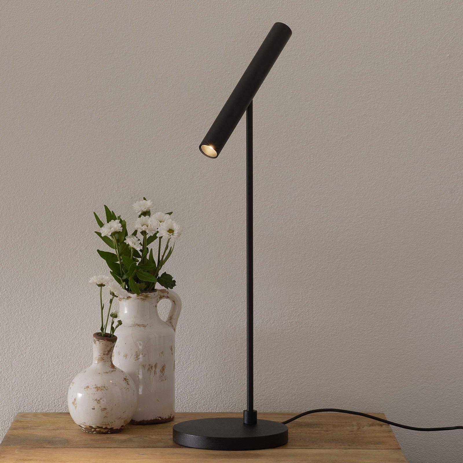 LOUM Meyjo LED-bordlampe sensor-dim svart