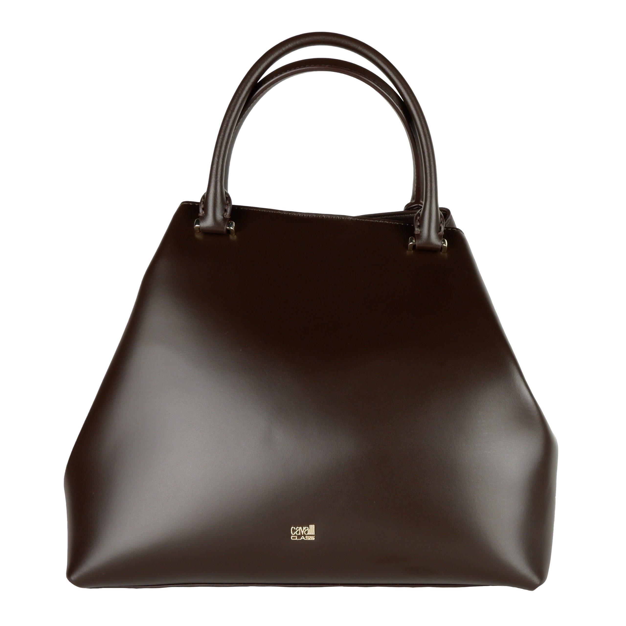 Cavalli Class Women's Handbag Dark Brown CA1421215