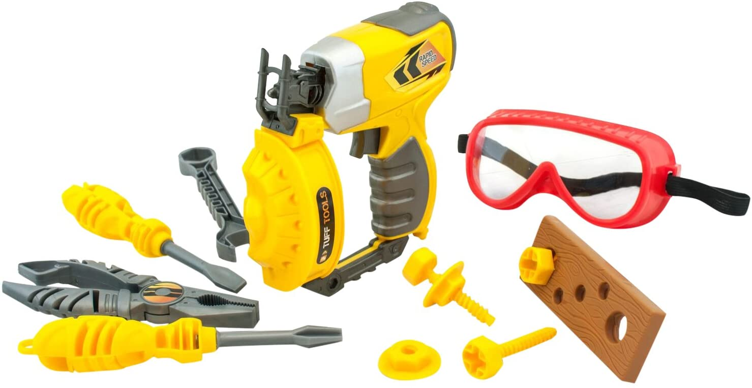 Tuff Tools - Multi-Tool Set w. Light and Sound - Nail Gun