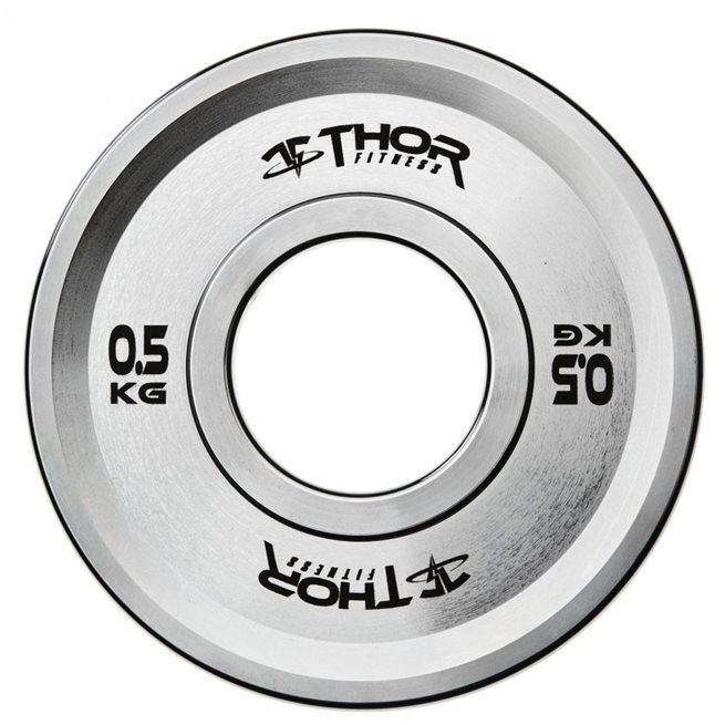 Thor Fitness Fractional Plates, Viktskiva Gummerad
