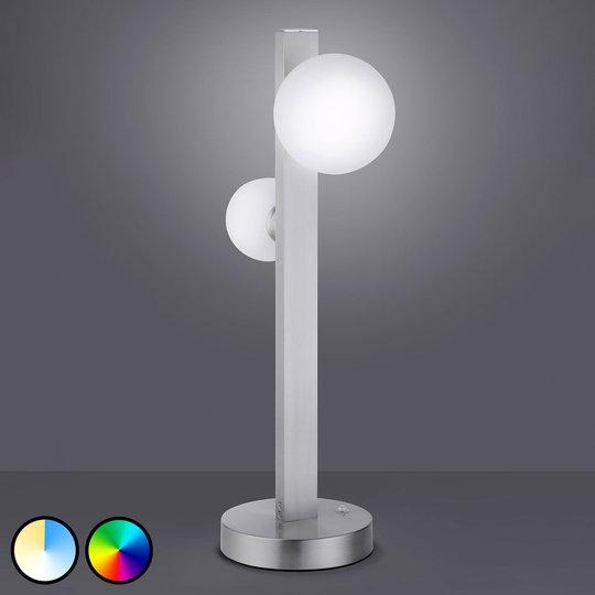 Trio WiZ Dicapo -LED-pöytälamppu, 2-lamppuinen