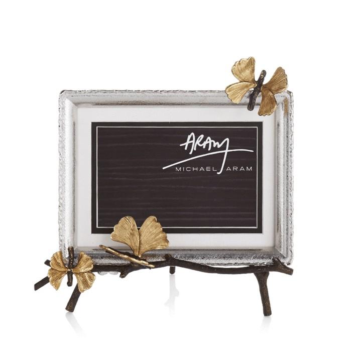 Michael Aram I Butterfly Ginkgo Easel Frame