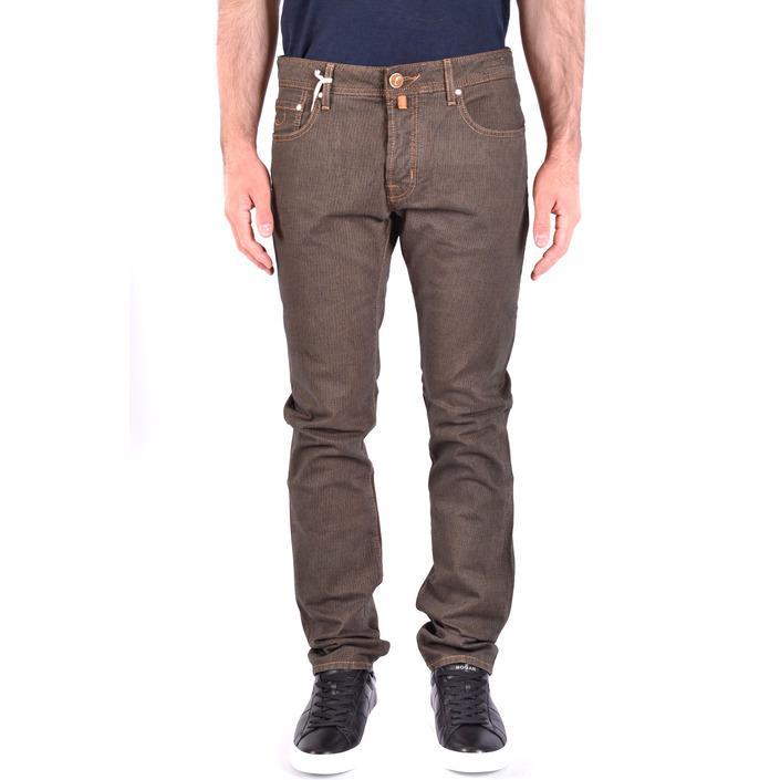 Jacob Cohen Men's Jeans Brown 223309 - brown 33