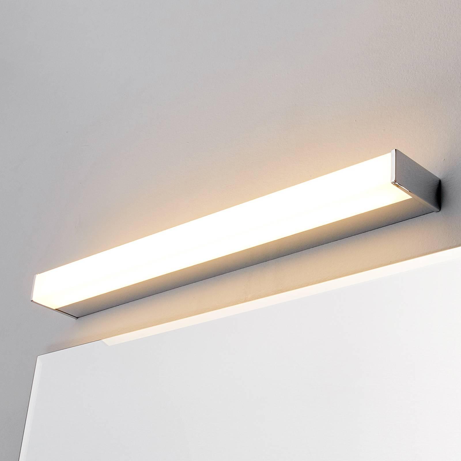 LED-kylpyhuone ja peilivalo Philippa kulmikas 58cm