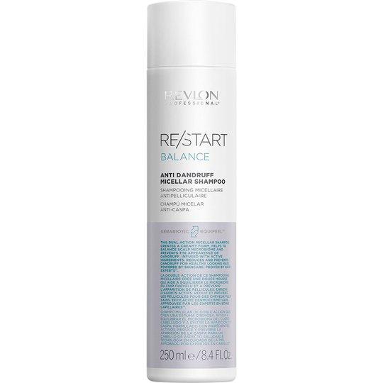 Restart Balance Anti-Dandruff Micellar Shampoo, 250 ml Revlon Professional Shampoo