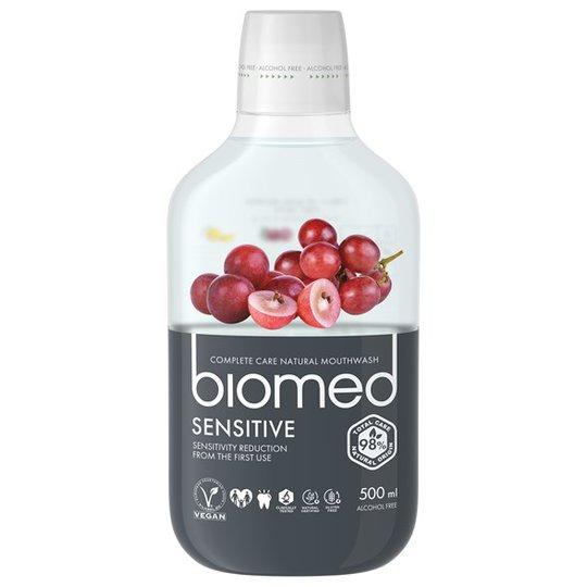 Biomed Sensitive Mouthwash, 500 ml