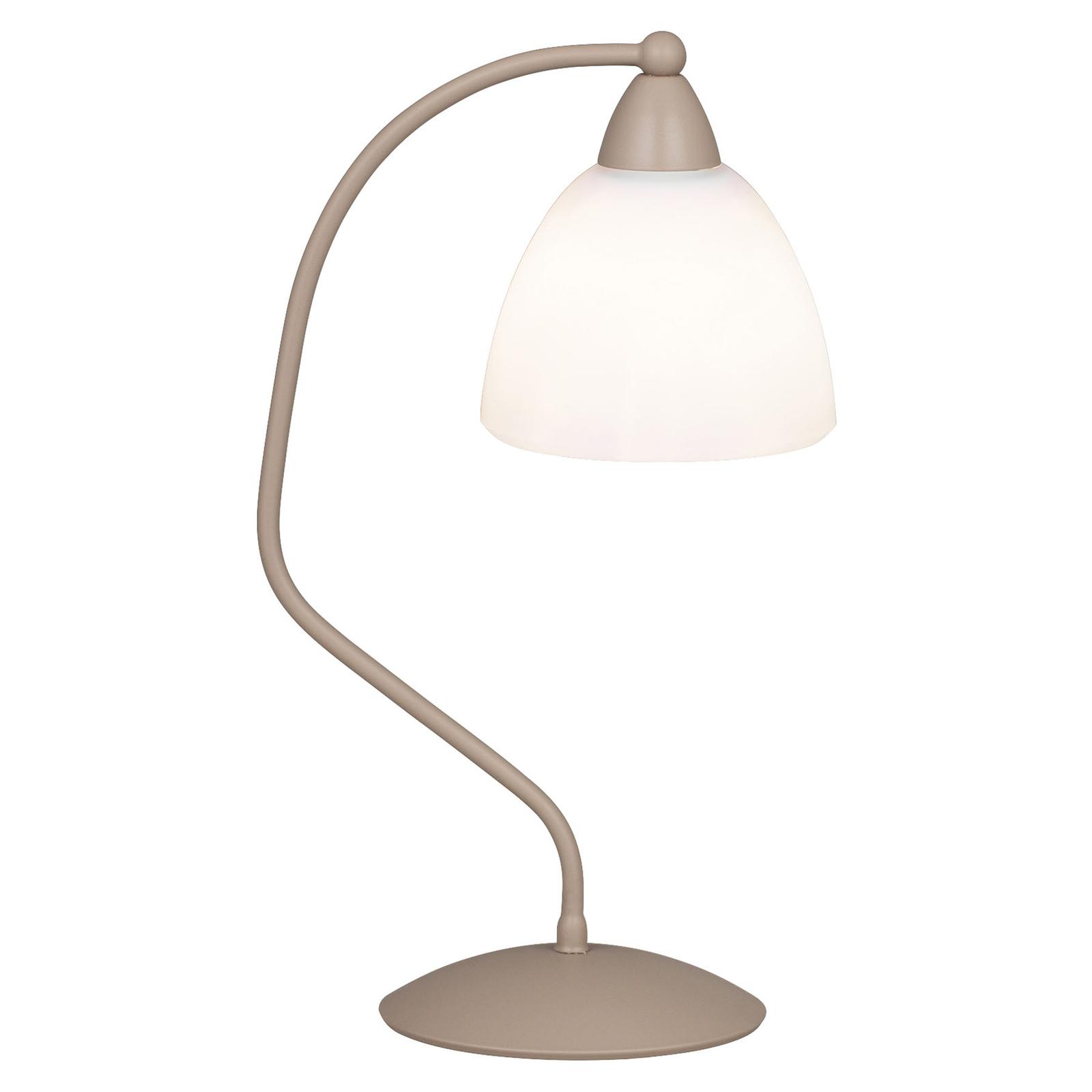 Pöytälamppu 1795/1L valkoinen, havana beige