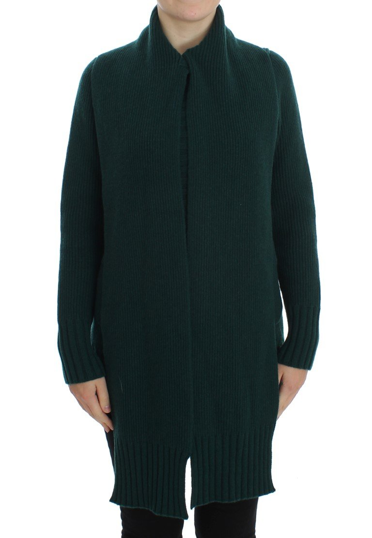 Dolce & Gabbana Women's Knitted Cashmere Cardigan Green SIG20500 - IT46|XL