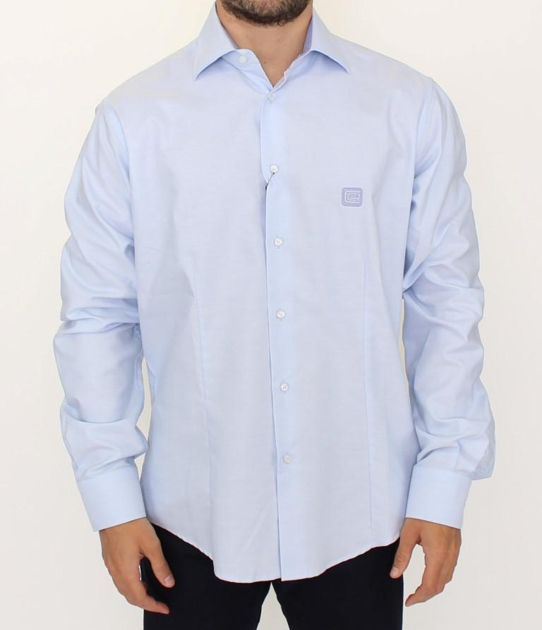 Cavalli Men's Shirt Blue SIG10098 - XL