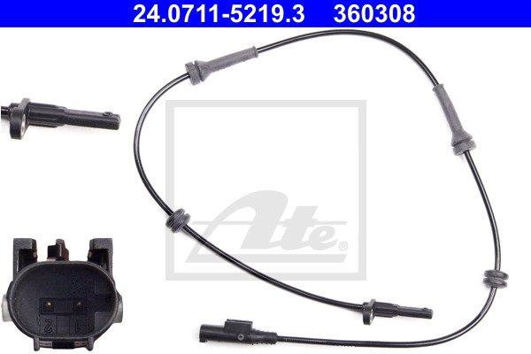 ABS-anturi ATE 24.0711-5219.3