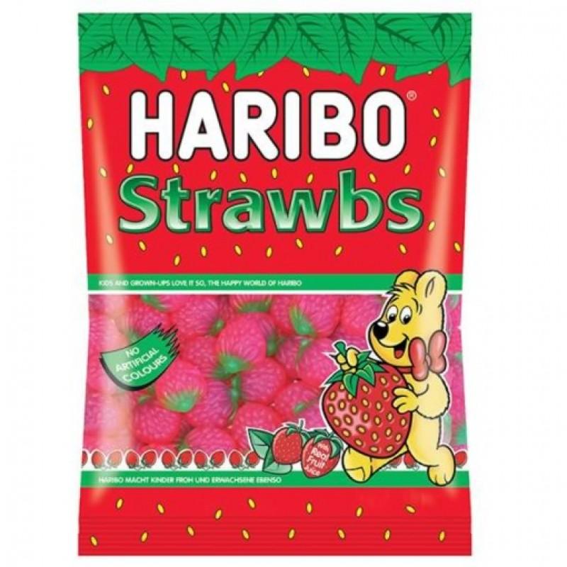 Haribo Strawbs 140g