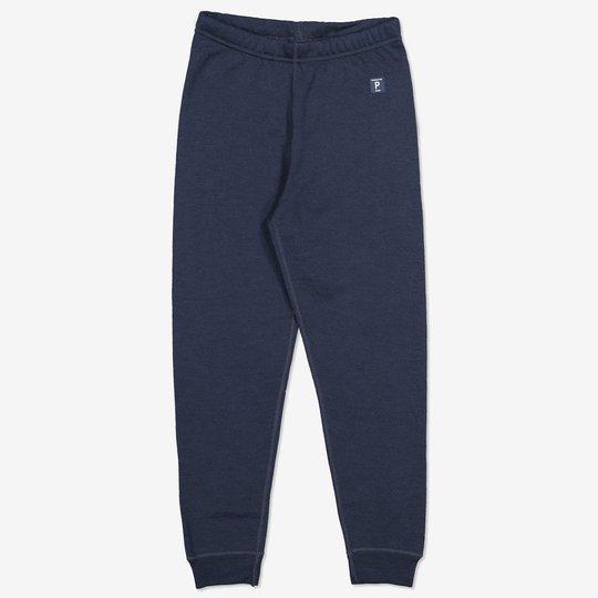 Bukse ullfrotté mørkblå