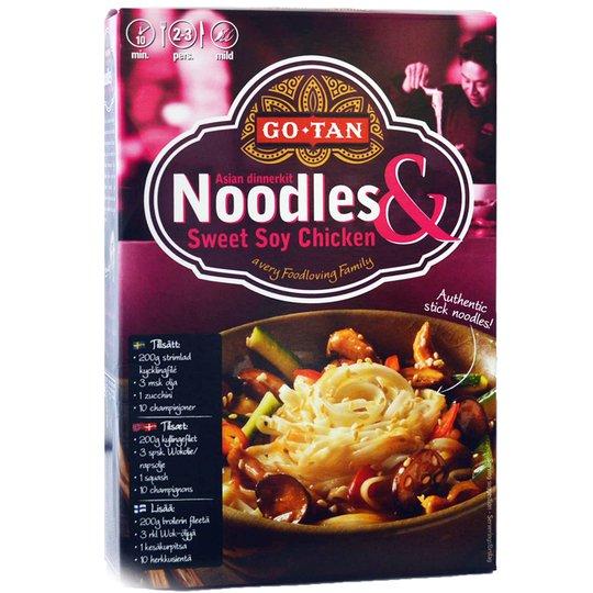 Noodles dinnerkit Sweet soy - 50% rabatt