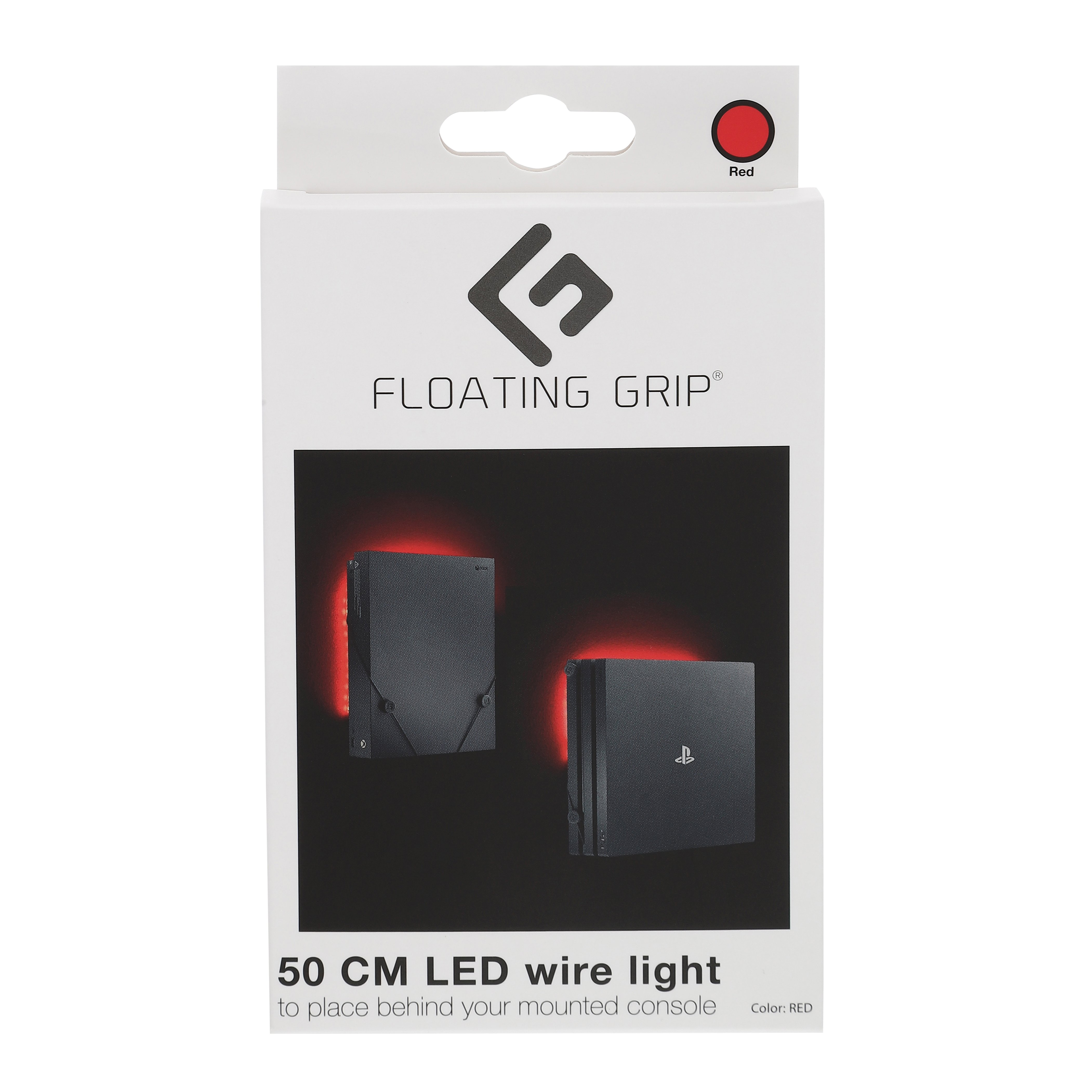 Red LED light - Add on to your FLOATING GRIP®-mount