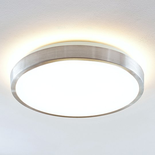 Lindby Emelie LED -kattovalaisin, pyöreä, 42 cm