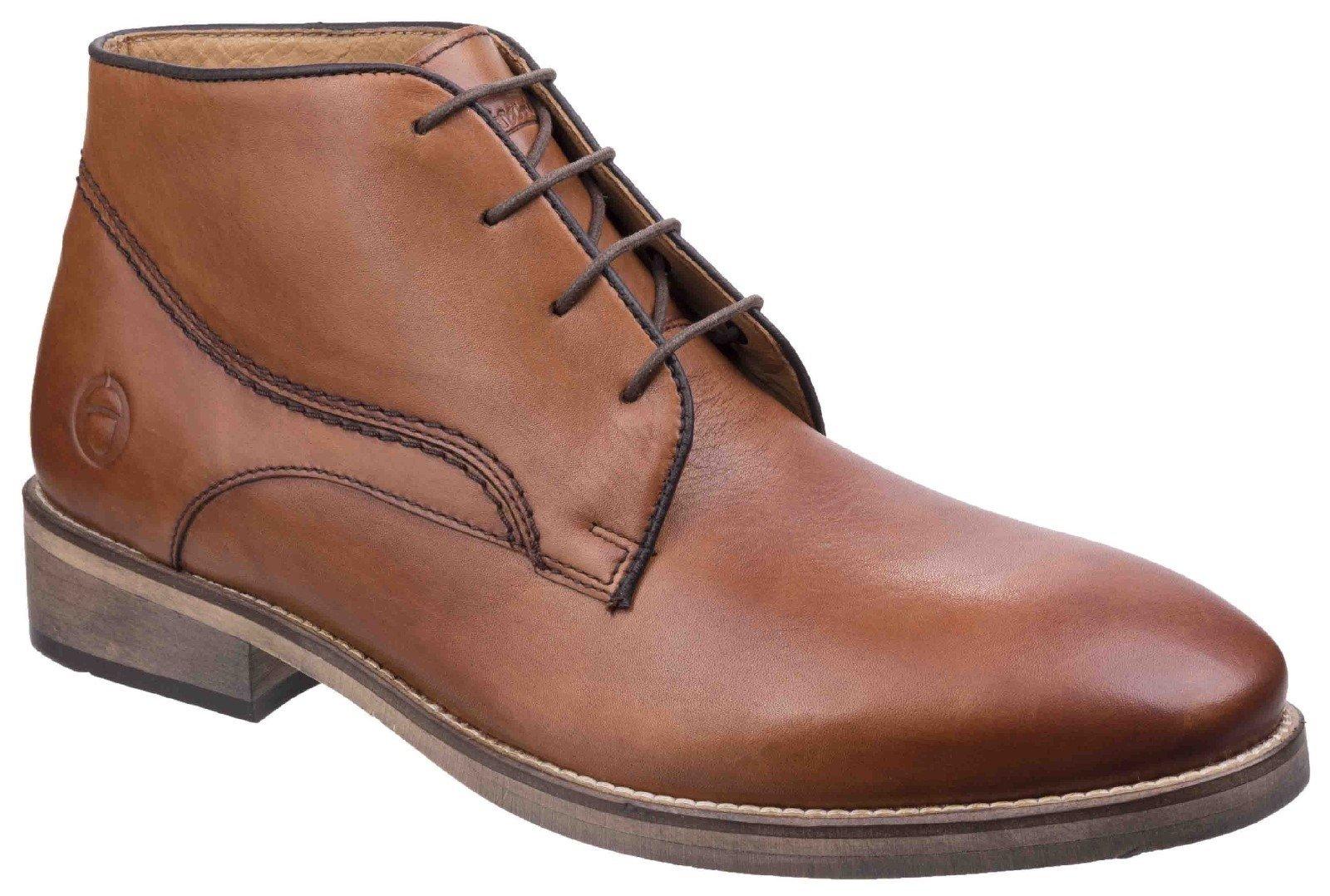Cotswold Men's Maugesbury Ankle Boot Various Colours 26269 - Tan 6
