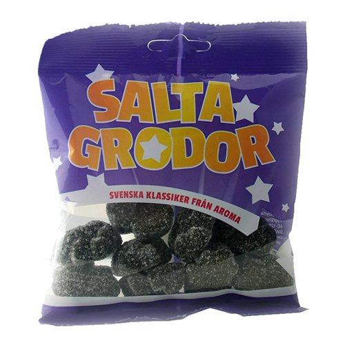 Salta Grodor i Påse - 80 gram