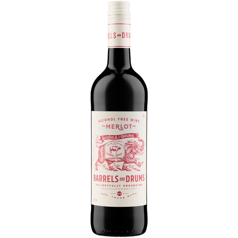 Merlot Alkoholiton Viini - 48% alennus
