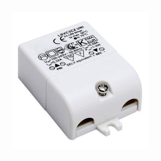 LED ohjain 3 W 320 mA