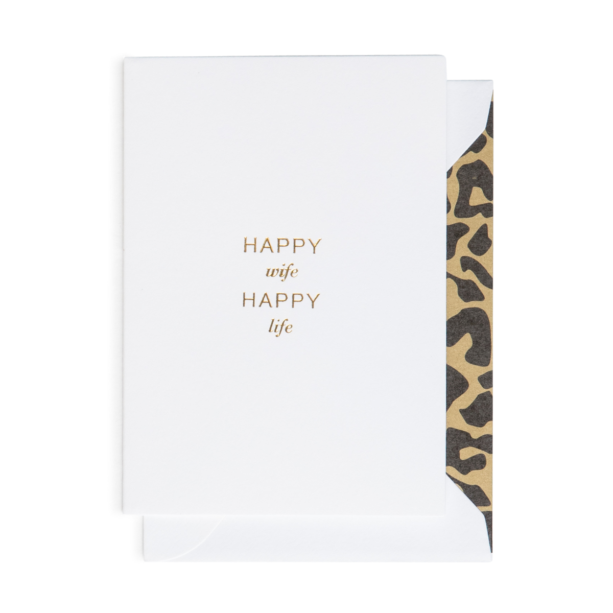 Cardsome | Cards - Happy Wife Happy Life (A7)