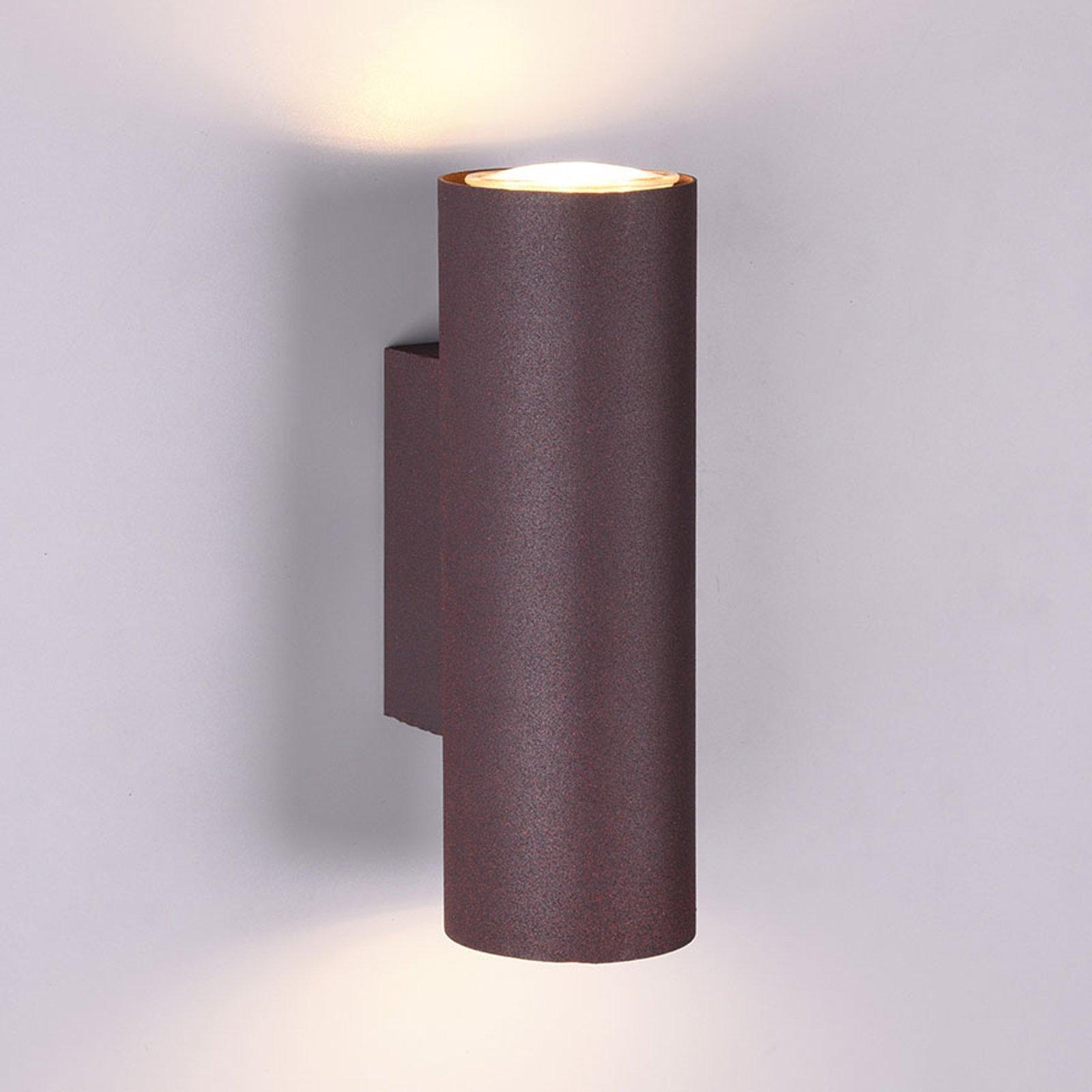 Vegglampe Marley 2 lyskilder rust