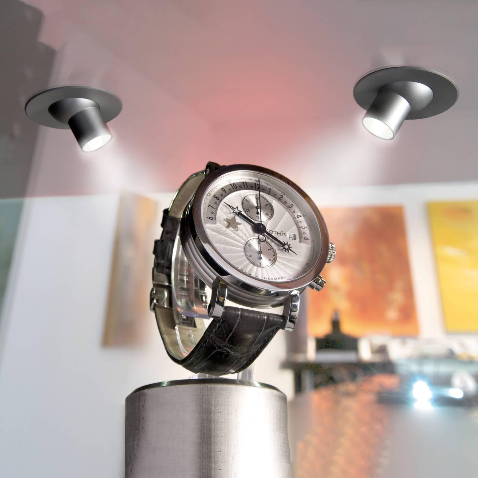 LED Eye 25S innfellingslampe, svart