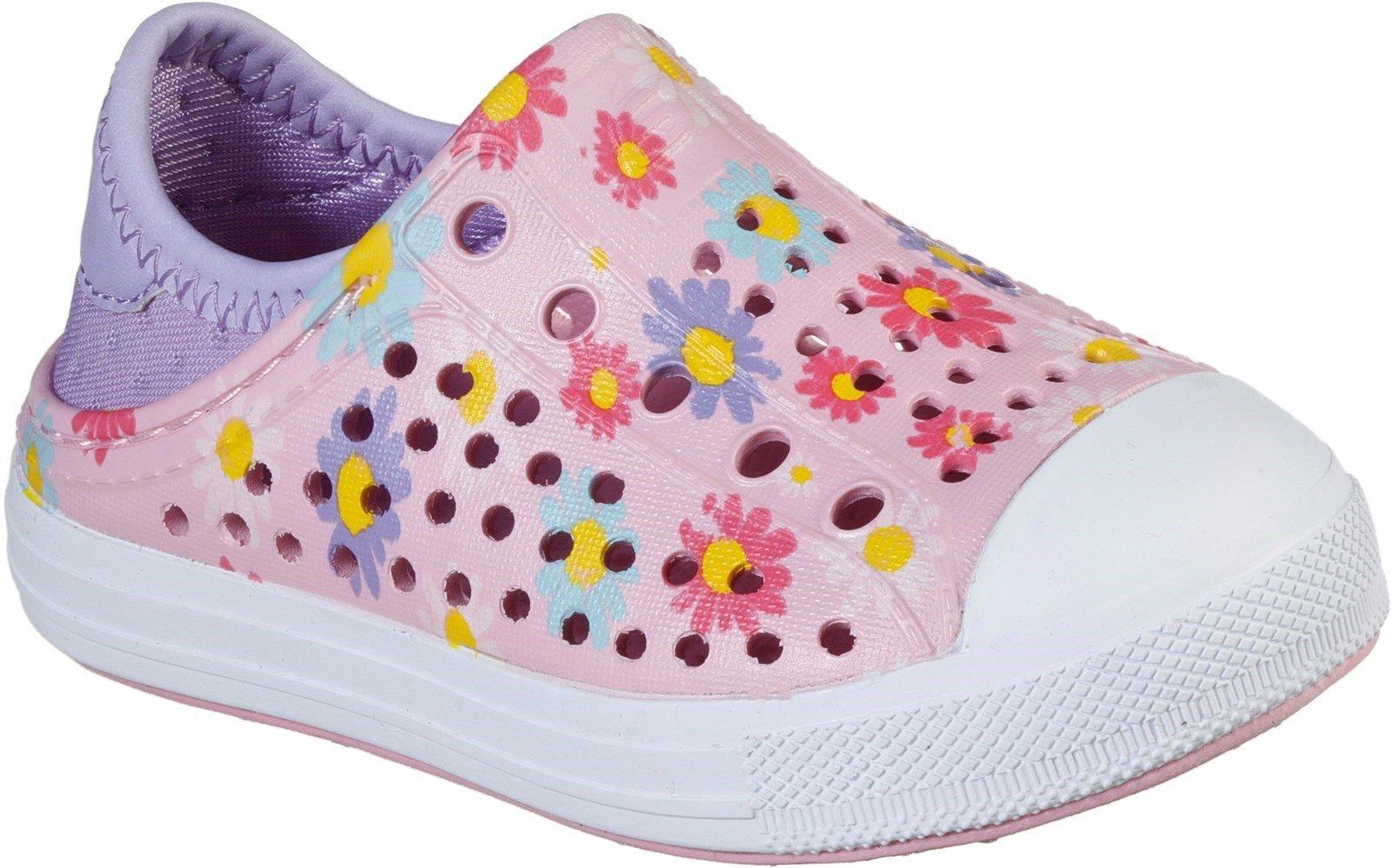 Skechers Women's Guzman Steps Hello Daisy Slip On Sandal Pink 30781 - Pink 4