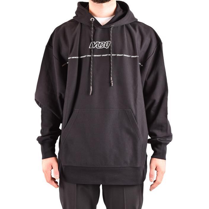 Alexander Mcqueen Men's Sweatshirt Black 185109 - black XS