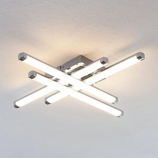Modernin näköinen LED-kattovalaisin Tilo