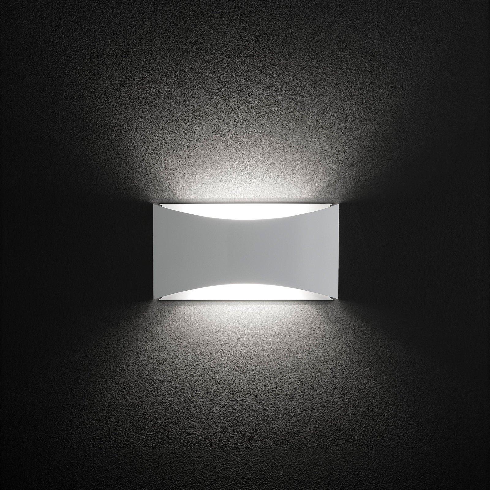 Oluce Kelly-LED-vegglampe med up/down-lys