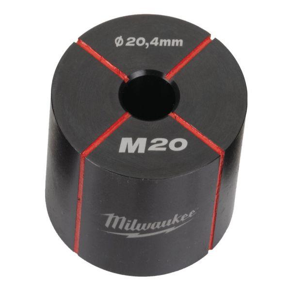 Milwaukee 4932430914 Hullstanser for rustfritt og mykt stål M20