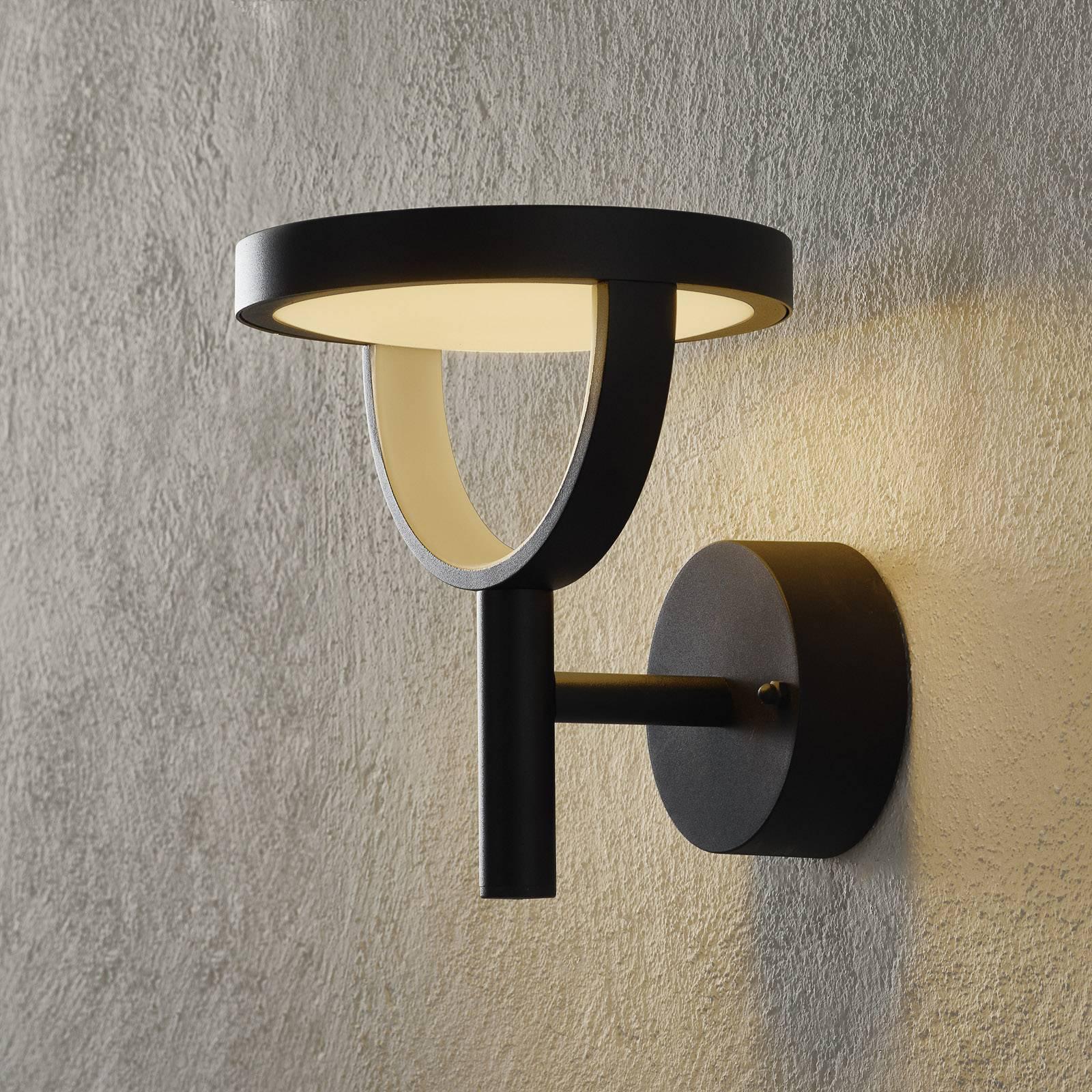 EGLO connect Francari-C utendørs LED-vegglampe