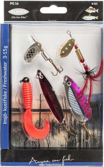 Fladen Edelfisk 5-pack Sluksett