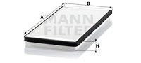 Raitisilmasuodatin MANN-FILTER CU 4150