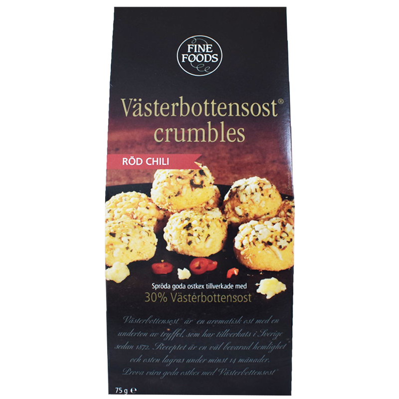 Ostkex Västerbottenost & Röd Chili 75g - 42% rabatt