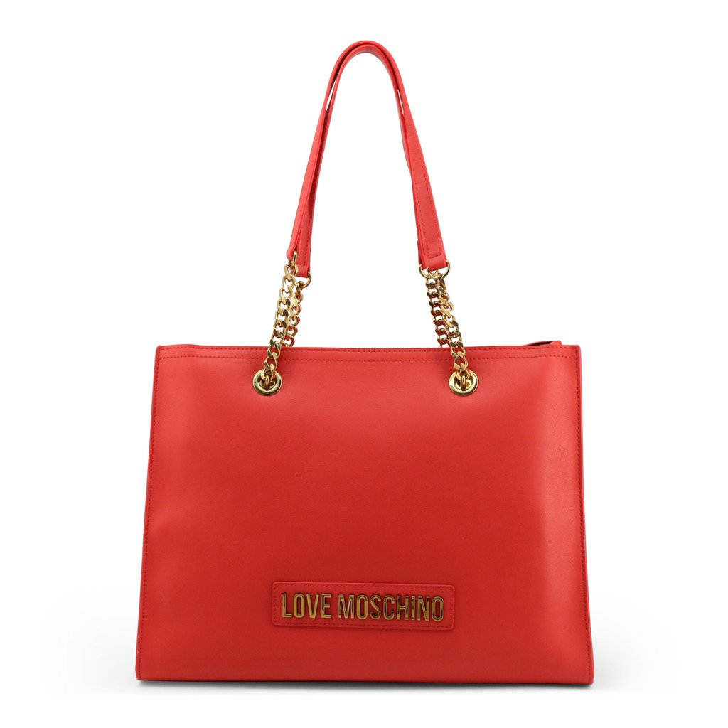 Love Moschino Women's Shoulder Bag Red JC4066PP1BLK - red NOSIZE