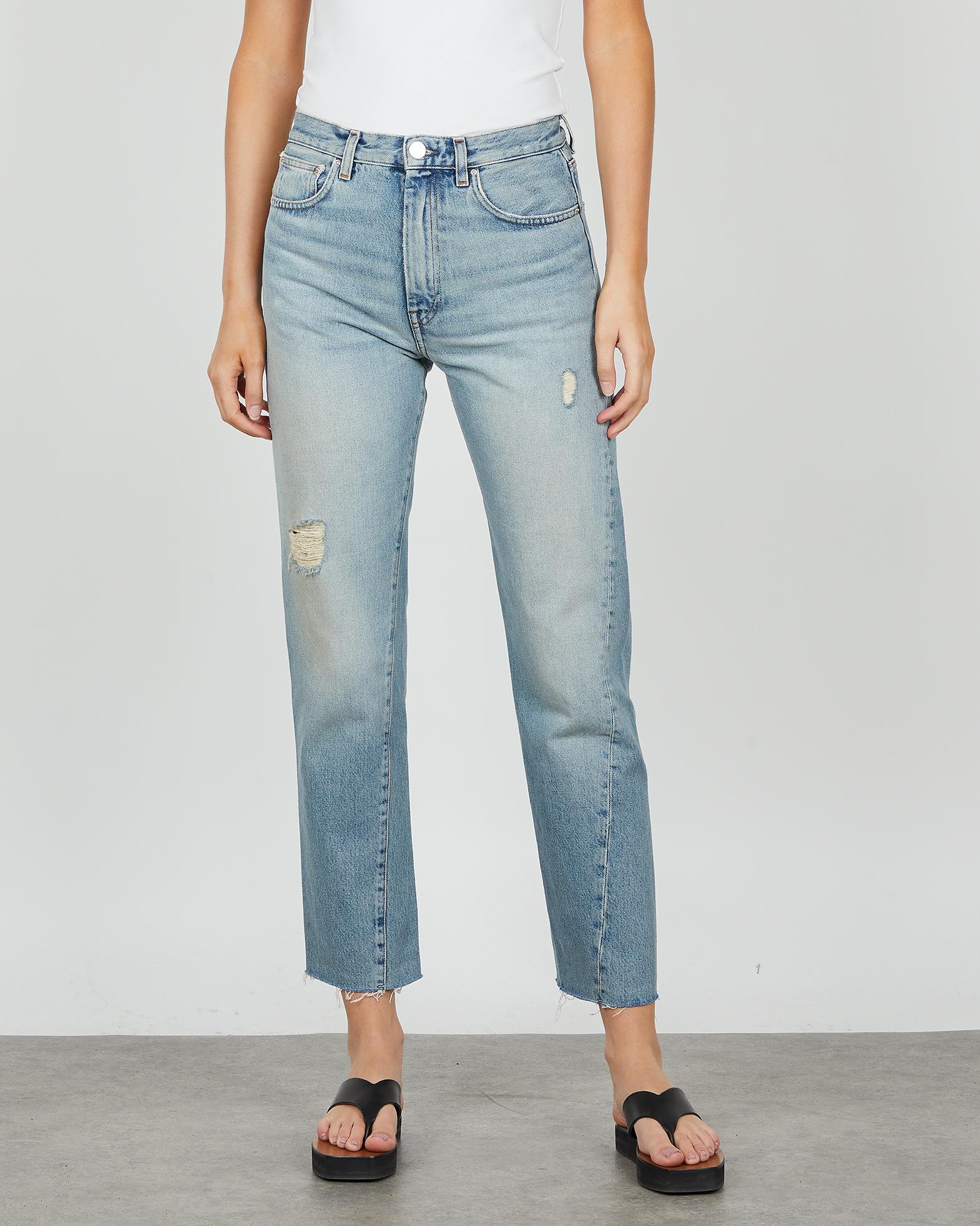 Totême Jeans Twisted Seam blå 23/32
