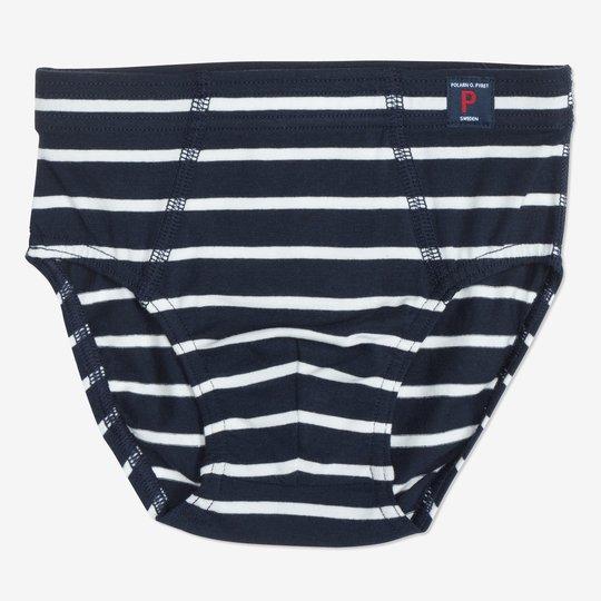 Stillongs stripet barn mørkblå